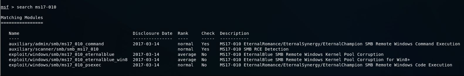 How to find SMB vulnerabilities with nmap & exploiting ms17